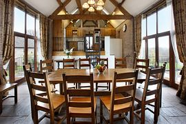 Holt Farm Barns - Holt Barn dining hall