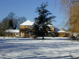 Spinney House in Winter