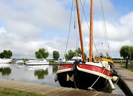 Mooring at the Waveney River Centre