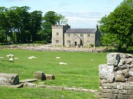 Birdoswald Accommodation - Birdoswald Farmhouse