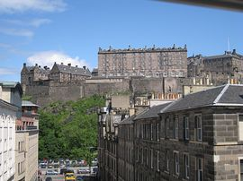 Edinburgh Castleview - View from the apartment