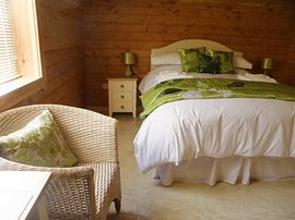 Hill of Maunderlea Lodges - Double Bedroom