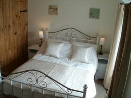 The double bedded bedroom