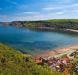 General view of Runswick Bay