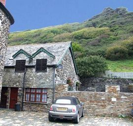 The Old Oil House Boscastle - The Old Oil House