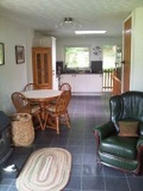 Dolgoch Holiday Cottage Living Area