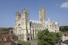 Canterbury Cathedral on a sunny day