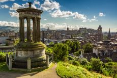 View over Edinburgh from Calton Hill © shaiith/shutterstock