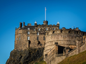 Impressive Edinburgh Castle