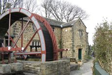 Water wheel at Yorkshire Mining Museum