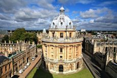 The Radcliffe Camera in Oxford seen from above © Paul Cowan/shutterstock