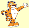 TigerLocal Tiger Mascot