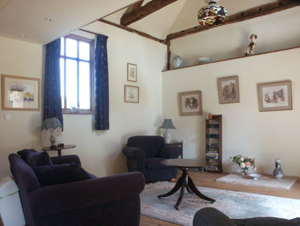 Rectory Cottage Sitting Area