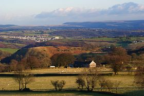 Aber-bargoed from Gelligaer and  Merthyr Common © MICHAEL COCHRAM