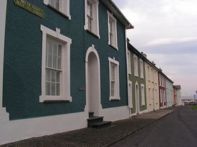 Typical houses in Aberaeron © Colette Bettis