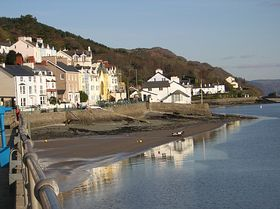 View from the Harbour Aberdovey © Dorothy Roberts
