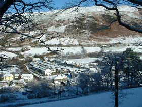 Village in the snow 06 © Ann Campbell