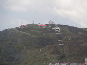 Aberystwyth funicular railway and observatory tower © Colette Bettis
