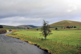 River Clyde at Abington © John Mcleish www.images-scotland