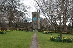 St Peters Church Addingham. © Mr Philip Moon (HKt.B)