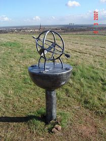 Sculpture on Brodsworth Community Woodland ©Sarah Walker