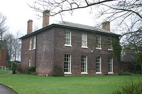 Aldridge Rectory built in the 1820's © ANDREW BLAKEMORE