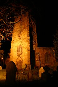 St Mary's Parish Church at night © ANDREW BLAKEMORE