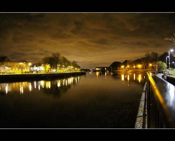 River Leven by Night