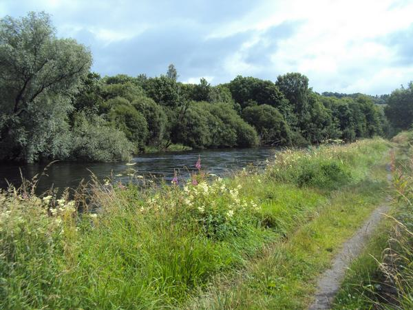Renton to Alexandria following River Leven