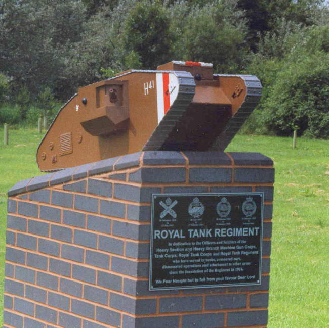 Tanks memorial at Alrewas © Dale Miles