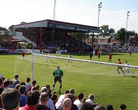 Moss Lane Football Park (c) Matthew Wilkinson  Via Flickr