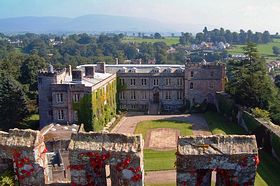 Appleby Castle Westmoreland (c) Snapshots of the past via Wikimedia Commons
