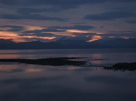 Sunset Applecross Road to Applecross © louise pond