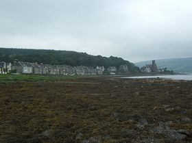 Ardbeg at low tide © Christine Woodcock