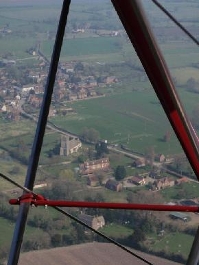Arlingham from the air
