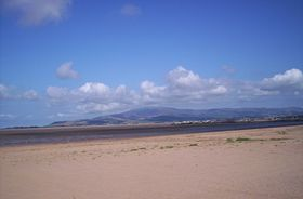 On Askam Estuary looking towards Black Coombe ©Michael Woodley