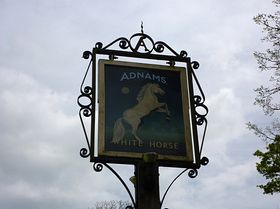 Pub Sign © Peggy Cannell