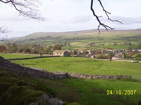 Bainbridge from Brough Scar © Philip Cookson