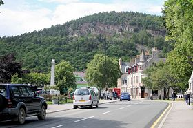 View of Ballater Ian McLeish www.images-scotland.com