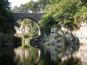 The bridge of Alvah near Banff © Michael Cox