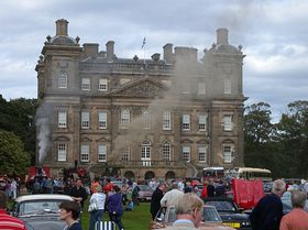 Antique car rally at Duff House, Banff © Michael Cox