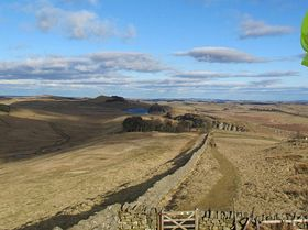 Crag Lough, Hadrian's Wall 2miles above Bardon Mill © Ali
