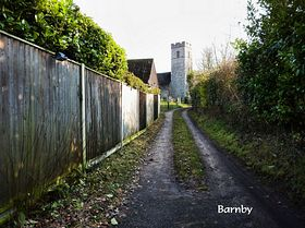 Path to the Church © Peggy Cannell