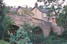 The old bridge, Baslow © David Oakley-Hill