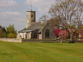 Beechamwell Church © Paul Woodgate