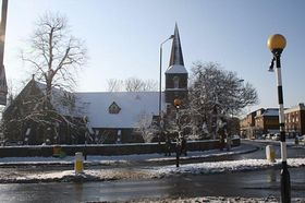 Local Church in the snow 2010 © Lee Sloan