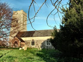 Benacre Church © Peggy Cannell