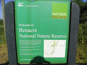 Nature Reserve Notice Board © Peggy Cannell