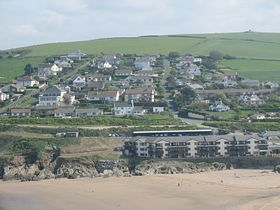 Bigbury-on-Sea from Burgh Island © Louise E. Wright