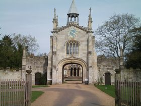 Entrance to the bishop's palace © Philip Cookson